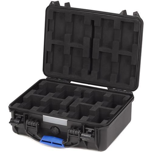 BLUESHAPE Product BLUESHAPE BX8 8-Battery UN Certified Lithium-Ion Battery Transport Case