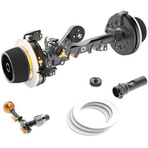 Bright Tangerine Follow Focus Systems Bright Tangerine Revolvr Dual-Sided Lightweight Follow Focus Kit