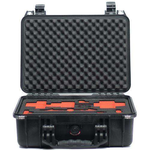 Bright Tangerine Matte Box Accessories Bright Tangerine Pelican 1450 Case with Custom-Cut Foam for Revolvr Follow Focus Kit