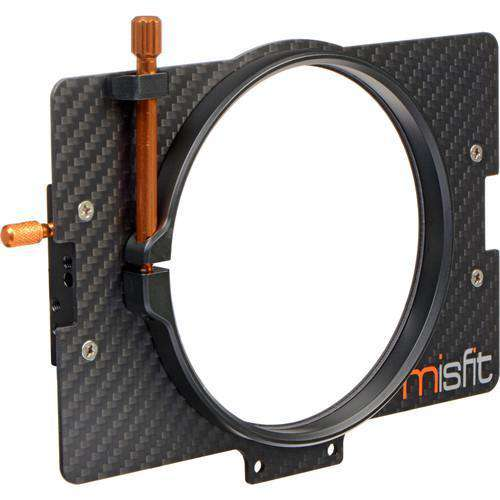 Bright Tangerine Matte Box Adapter Rings Bright Tangerine 110mm Clamp Lens Attachment for Misfit Matte Box