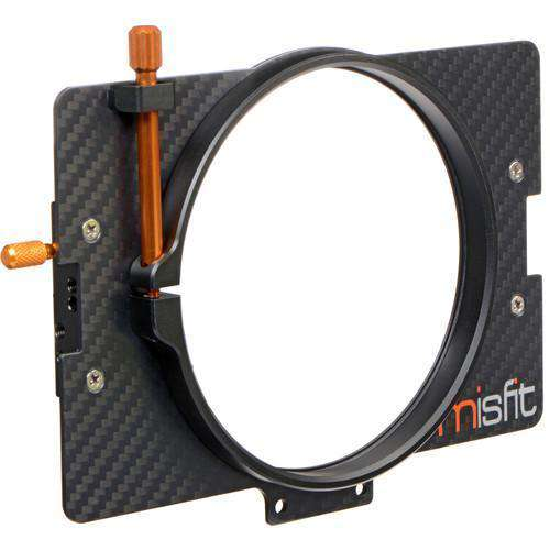 Bright Tangerine Matte Box Adapter Rings Bright Tangerine 114mm Clamp Lens Attachment for Misfit Matte Box