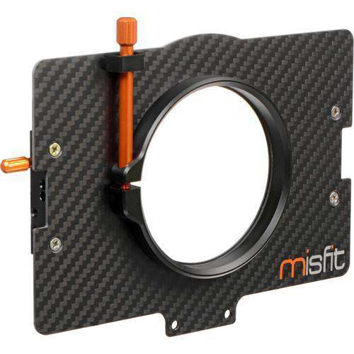 Bright Tangerine Matte Box Adapter Rings Bright Tangerine 80mm Clamp Lens Attachment for Misfit Matte Box