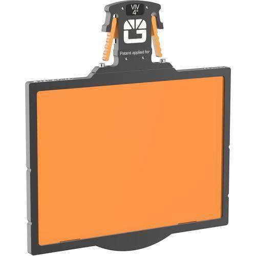 "Bright Tangerine Matte Box Filter Holders Bright Tangerine 4 x 5.65"" Gripper Filter Tray for Misfit Matte Box"