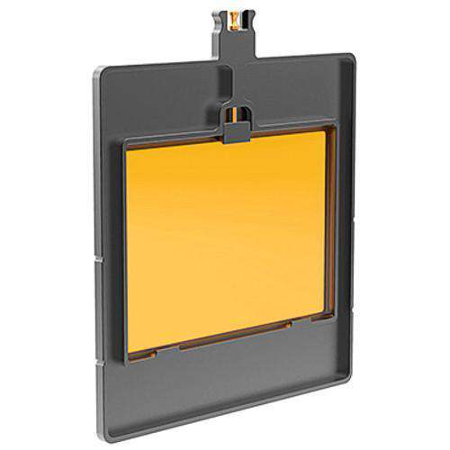 "Bright Tangerine Matte Box Filter Holders Bright Tangerine 6.6"" - 4x5.65"" Horizontal Filter Tray for Blacklight"
