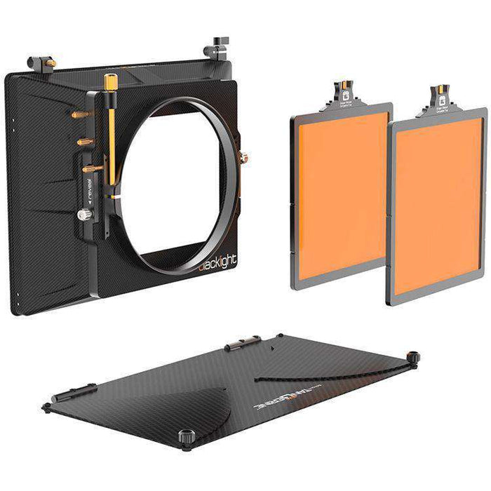 Bright Tangerine Matte Boxes & Sunshades Bright Tangerine Blacklight Matte Box Kit 1