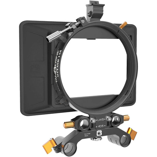 Bright Tangerine Matte Boxes & Sunshades Bright Tangerine Clash 138 Matte Box 19mm Studio Kit