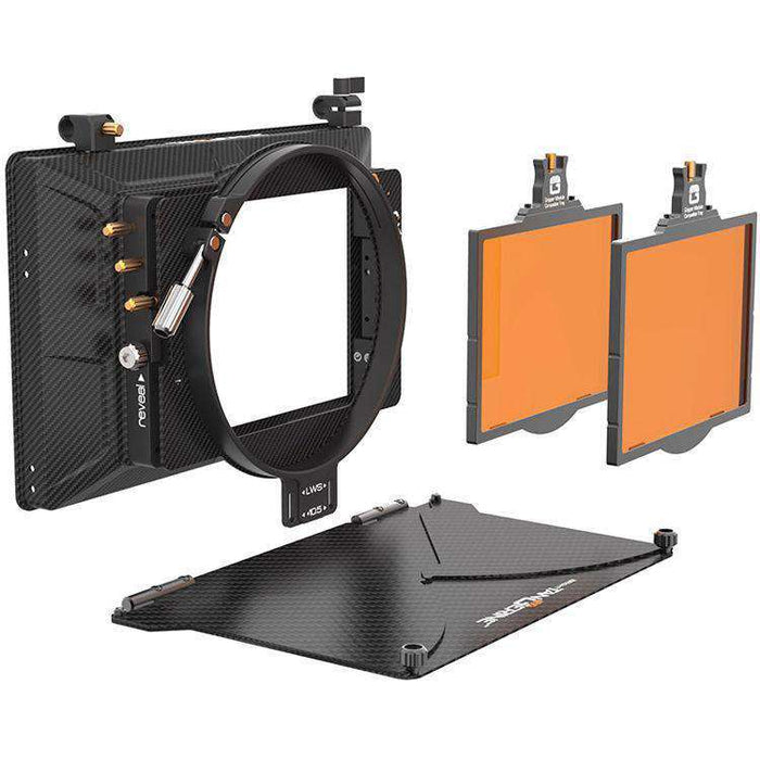 Bright Tangerine Matte Boxes & Sunshades Bright Tangerine Misfit Matte Box Kit 3