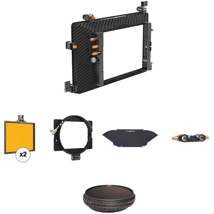 Bright Tangerine Matte Boxes & Sunshades Bright Tangerine Misfit VND Matte Box Kit