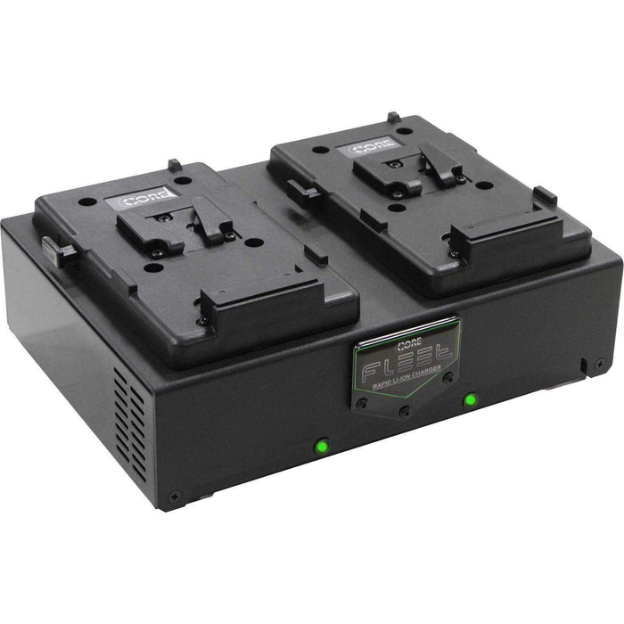 Core SWX Core SWX V-Mount Chargers Core SWX Fleet D V-Mount 2-Bay Charger