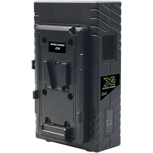 Core SWX Core SWX V-Mount Chargers Core SWX X2S 2-Bay Vertical V-Mount Battery Charger