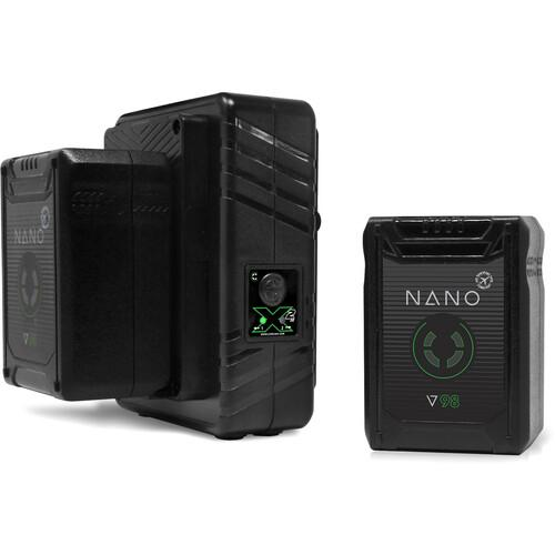 Core SWX On Camera Batteries Core SWX NANO Micro 98Wh Lithium-Ion 2-Battery Kit with Dual Travel Charger (V-Mount)
