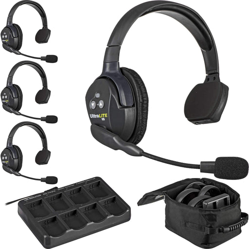Eartec Eartec Eartec UL4S UltraLITE 4-Person Headset System (USA)
