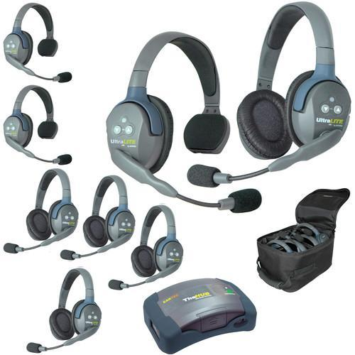 Eartec IFB & Communications Eartec HUB835 UltraLITE 8-Person HUB Intercom System (USA)