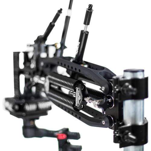 FLOWCINE Gimbal Mounting Components FLOWCINE Black Arm Complete Dampening System with 57-75 lb Anti-Vibration Mount & Pro Case