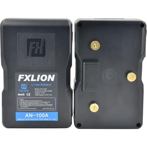 Fxlion On Camera Batteries Fxlion Cool Black Series 14.8V Lithium-Ion Battery (98Wh, Gold Mount)