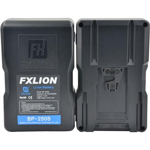 Fxlion On Camera Batteries Fxlion Cool Black Series BP-250S 250Wh 14.8V Battery (V-Mount)