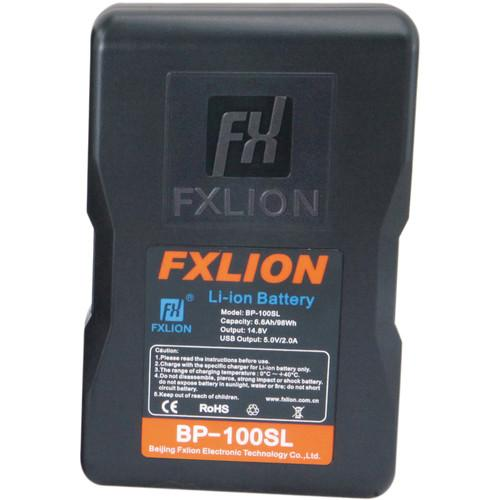 Fxlion On Camera Batteries Fxlion Cool Blue Series BP-100SL 14.8V Lithium-Ion V-Mount Battery (98Wh)
