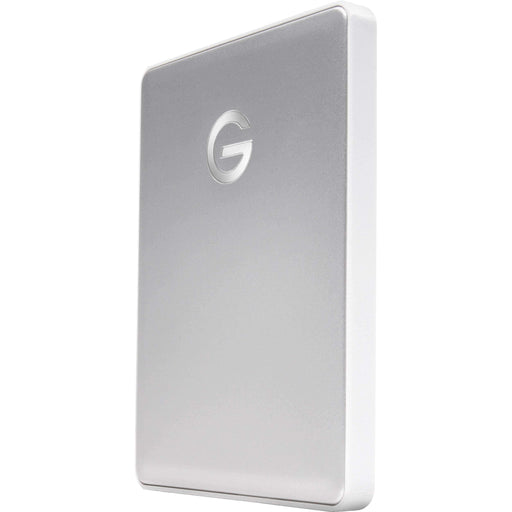 G-Technology External Drives G-Technology 2TB G-DRIVE mobile USB 3.1 Gen 1 Type-C External Hard Drive (Silver)