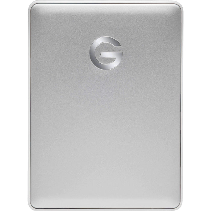 G-Technology External Drives G-Technology 4TB G-DRIVE mobile USB 3.1 Gen 1 Type-C External Hard Drive (Silver)