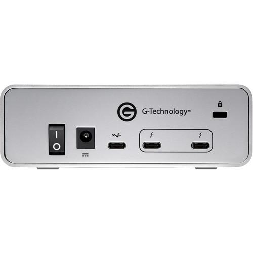 G-Technology External Drives G-Technology 6TB G-DRIVE External Hard Drive (Thunderbolt 3 & USB 3.1 Gen 1)