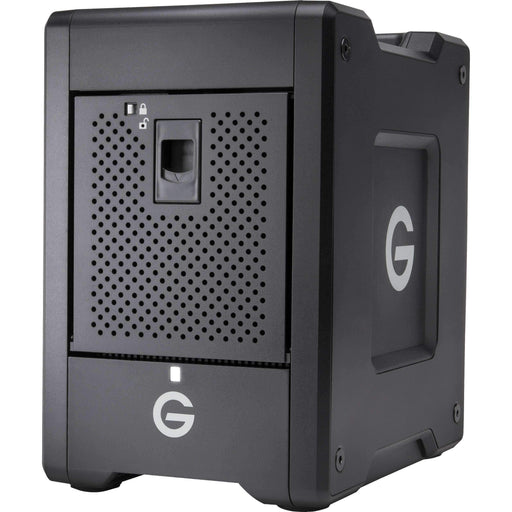 G-Technology Hard Drive Arrays G-Technology G-SPEED Shuttle 24TB 4-Bay Thunderbolt 3 RAID Array with Two ev Bay Adapters (2 x 12TB)