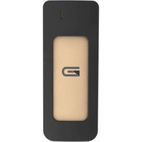 Glyph Technologies External Drives Glyph Technologies 275GB Atom USB 3.1 Type-C External SSD (Gold)