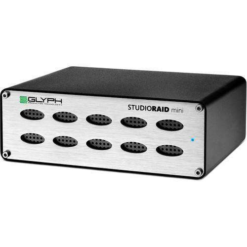 Glyph Technologies Hard Drive Arrays Glyph Technologies StudioRAID mini 4TB 2-Bay USB 3.1 Gen 1 RAID Array (2 x 2TB HDD)