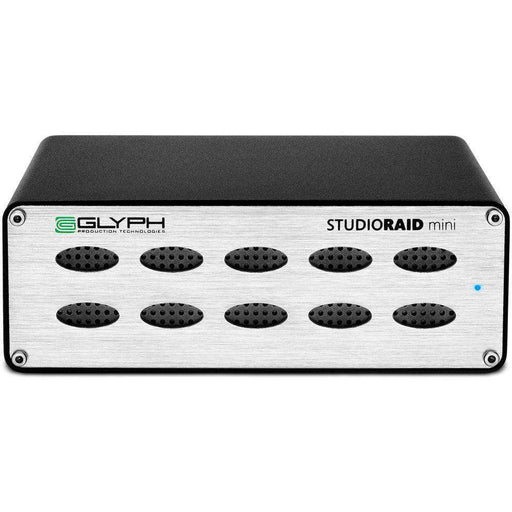 Glyph Technologies Hard Drive Arrays Glyph Technologies StudioRAID mini 6TB 2-Bay USB 3.1 Gen 1 RAID Array (2 x 3TB HDD)