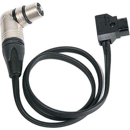 Litepanels LED Light Accessory Litepanels Anton Bauer PowerTap to 4-pin XLR Cable for Sola 4 and Inca 4 - 36""