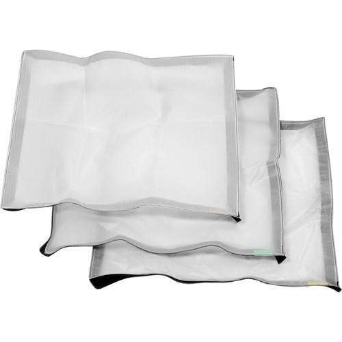 Litepanels LED Light Accessory Litepanels Cloth Set for Astra 1x1 and Hilio D12/T12 Snapbag Softbox