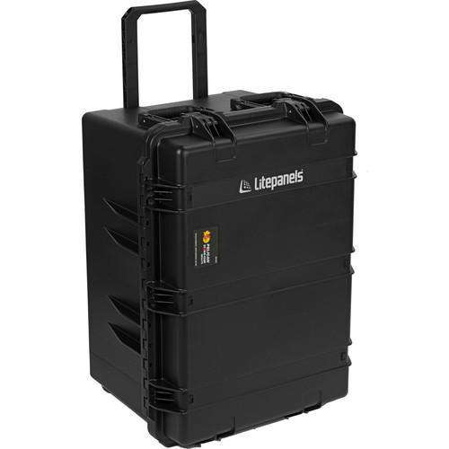 Litepanels Litepanels Trio Travel Case with Cut Foam for 3 Astra Lights (Black)
