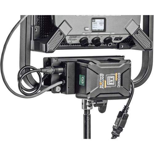 Litepanels Power & Cables Litepanels Battery Bracket V-Mount for Gemini 1x1 LED Panels