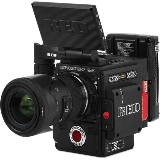 RED DIGITAL CINEMA Digital Cine Cameras RED DIGITAL CINEMA DSMC2 DRAGON-X Camera Kit (2018 Unified DSMC2 Lineup)