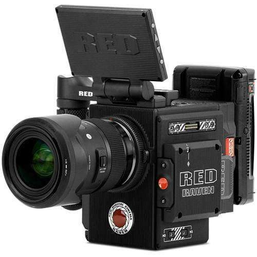 RED DIGITAL CINEMA Digital Cine Cameras RED DIGITAL CINEMA RED RAVEN Camera Kit