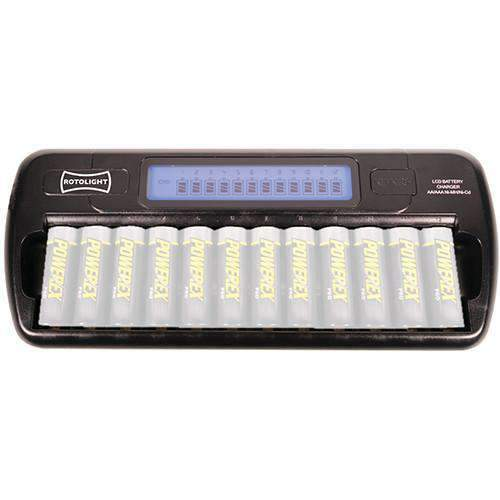 Rotolight Rotolight Rotolight 12-Way AA Battery Charger