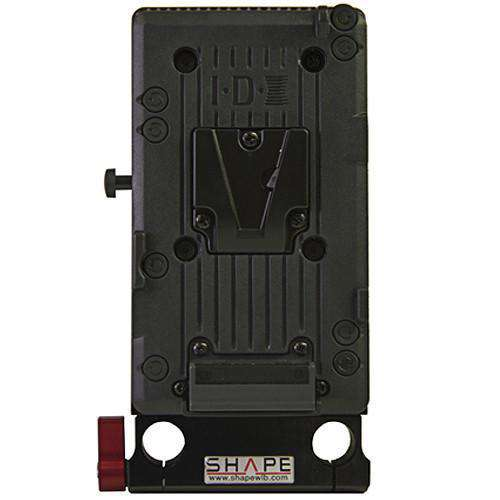 SHAPE Battery Mounting Plates SHAPE Vertical IDX Rod Block