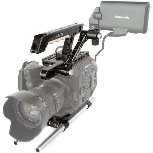SHAPE Camcorder Supports & Rigs SHAPE 15mm LW Handle EVF Mount for Panasonic AU-EVA1 Camera