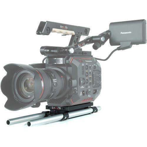SHAPE Camcorder Supports & Rigs SHAPE Baseplate with 15mm Rod System for Panasonic AU-EVA1