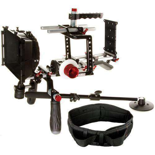 SHAPE Camcorder Supports & Rigs SHAPE Blackmagic Cinema Camera Shouler Mount Offset Bundle