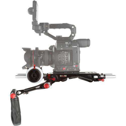 SHAPE Camcorder Supports & Rigs SHAPE Bundle Rig with Follow Focus Pro for Canon EOS C200