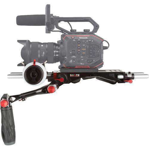 SHAPE Camcorder Supports & Rigs SHAPE Bundle Rig with Follow Focus Pro for Panasonic AU-EVA1 Camera