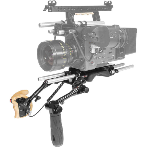 SHAPE Camcorder Supports & Rigs SHAPE Shoulder Baseplate 15Mm Lw With Remote Trigger Handle For Sony Venice