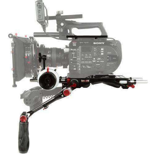 SHAPE Camcorder Supports & Rigs SHAPE Shoulder Rig Bundle for Sony FS7 Cameras