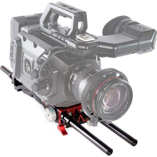 SHAPE Camcorder Supports & Rigs SHAPE V-Lock Quick Release Baseplate for Blackmagic URSA Mini