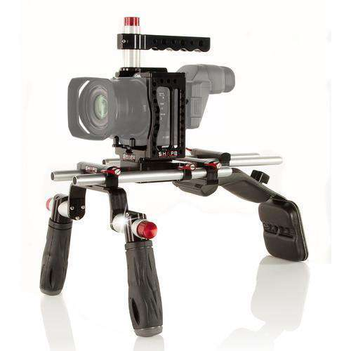 SHAPE Camcorder Supports & Rigs SHAPE XC10 Camera Cage with Shoulder Mount Kit