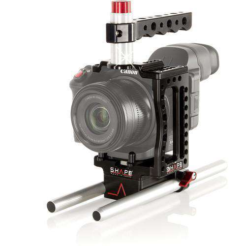 "SHAPE Camcorder Supports & Rigs SHAPE XC10CAGEROD XC10 Camera Cage with Two 10"" 15mm Rods"