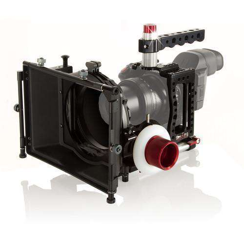 SHAPE Camcorder Supports & Rigs SHAPE XC10KIT Canon XC10 Camera Cage, 4x4 Matte Box, and Follow Focus Kit