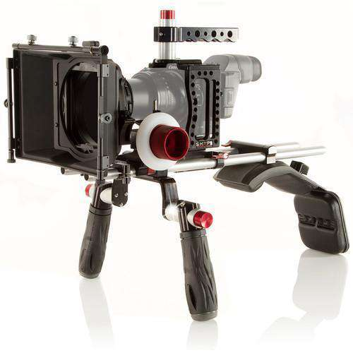 SHAPE Camcorder Supports & Rigs SHAPE XC10SMKIT XC10 Camera Cage, Shoulder Mount, Matte Box, & Follow Focus Kit