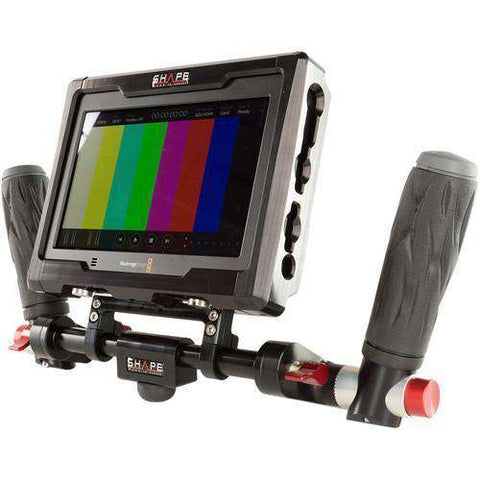 SHAPE ICON Director's Kit of Cage & Handles for Blackmagic Design Video Assist Monitor