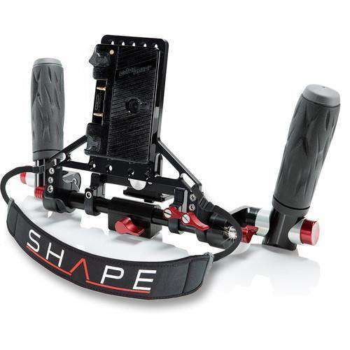 SHAPE Director's Monitor Brackets SHAPE Wireless Director's Kit with Gold Mount Battery Plate